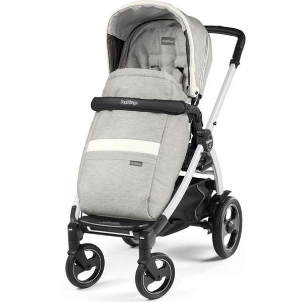 Peg Perego Book 51 S White Luxe Pure Pastaigu rati