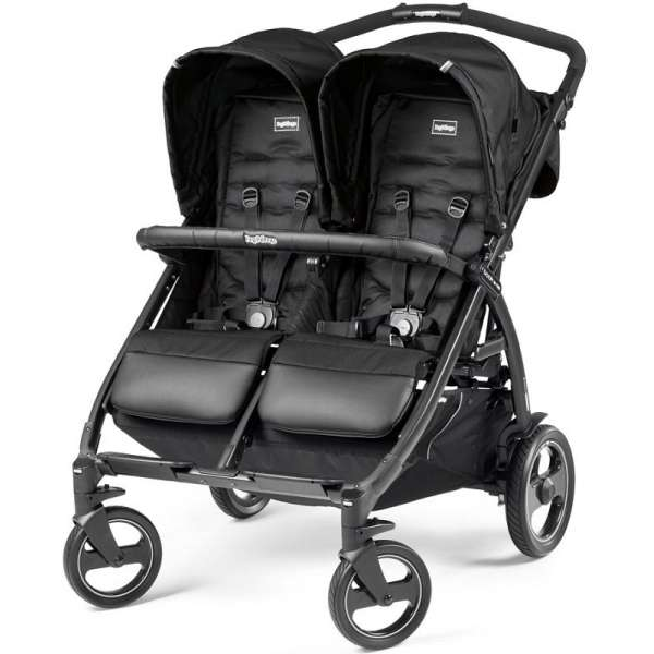 Peg Perego Book for two Class black dvīņu rati