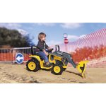 Peg Perego John Deere construction loader 12V OR0088 Bērnu elektro traktors