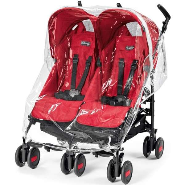Peg Perego Rain Cover Aria Shopper Twin/Mini Twin Lietusplēve