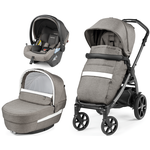 Peg Perego Book Lounge Modular City Grey Rati 3 vienā