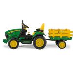 Peg Perego John Deere Ground Force with trailer NEW 12V Bērnu elektro traktors IGOR0102