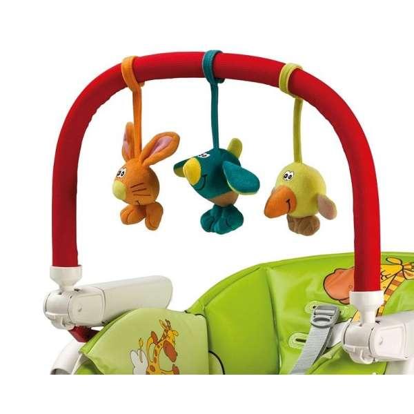 Peg Perego Play bar rotaļlietu arka barošanas krēsliem