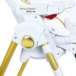 Peg Perego Prima Pappa Follow Me Gold Barošanas krēsls IH01000001BL00
