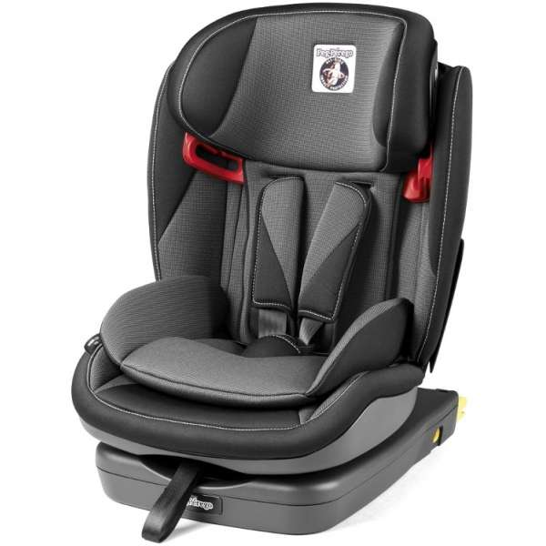 Peg Perego Viaggio 1-2-3 Via Crystal Black Bērnu autokrēsls (9-36kg)