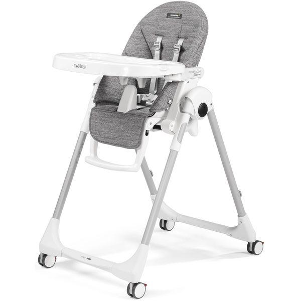 Peg Perego Prima Pappa Follow Me Wonder grey Barošanas krēsls