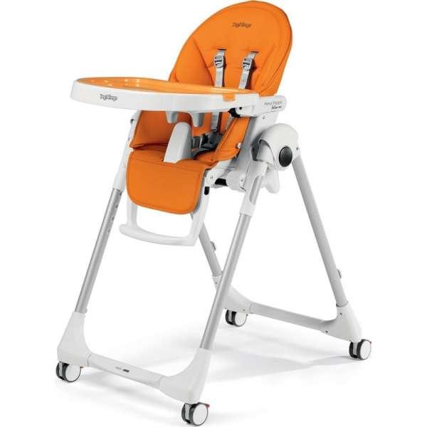 Peg Perego Prima Pappa Follow Me Arancia Barošanas krēsls
