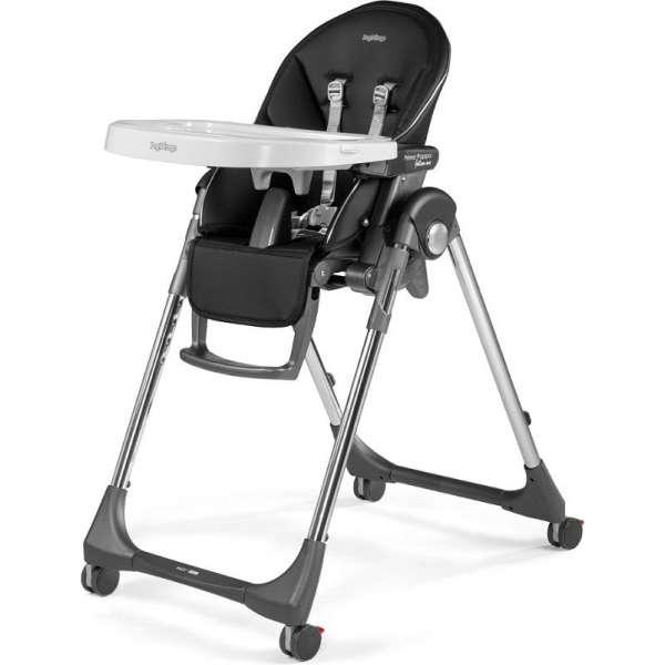 Peg Perego Prima Pappa Follow Me Hi-Tech Licorice Barošanas krēsls