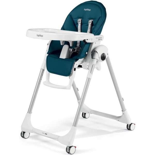 Peg Perego Prima Pappa Follow Me Petrolio Barošanas krēsls