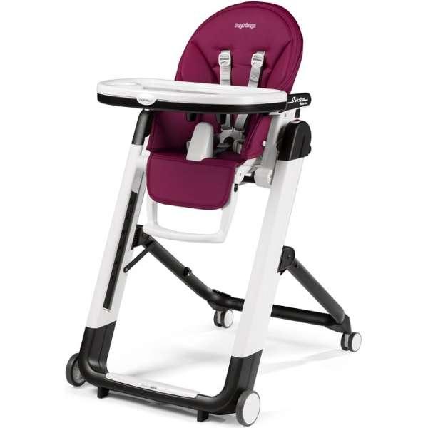 Peg Perego Siesta Follow Me Berry Barošanas krēsls